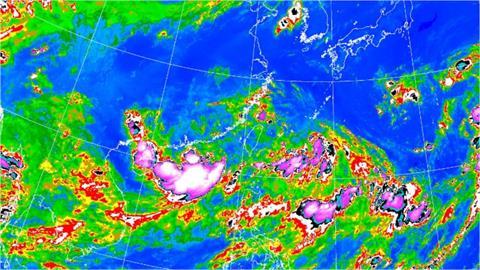 雙颱包夾共舞?林嘉愷:這3天雨勢最明顯「颱風2路徑」走向是關鍵