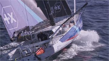 挑戰不靠岸環球賽  法國女船長盼激勵女性