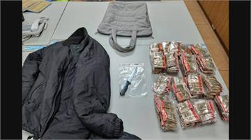 在家吃午飯 搶匪竟侵門踏戶來!搶走桌上包包  嫌犯八小時內被逮