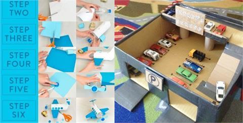 生活/別再使用 3C 產品育兒!善用家中廢棄物做成環保手作,一起創造和孩子交流的親子時光