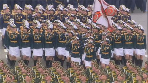 俄羅斯戰勝納粹76周年大閱兵 大秀軍事肌肉