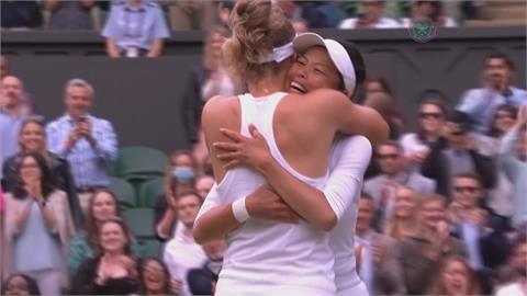 謝淑薇生涯第三度溫網女雙摘冠 將重返女雙球后