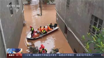 長江第四號洪水形成 8年最大洪峰過境四川宜賓