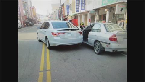 酒駕撞車誤打R檔又撞 24歲肇事者神隱 父親嗆不關他的事