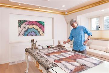 「大金先生」蘇一仲愛畫成癡 畫作義賣還自己買回
