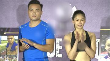 鄭兆村、文姿云聯手代言 記者會用瑜珈過招