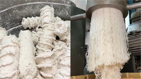 百年傳統米粉怎做的?從液體到固體 不斷變形柔韌製程曝光