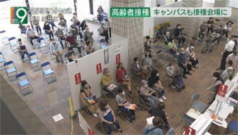 衝高疫苗接種率! 日本21號開放企業大學接種、醫院推到府施打