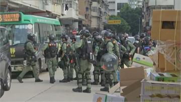 快新聞/港人九龍大遊行 截至晚間9時「至少289人被捕」