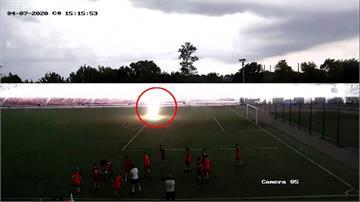 俄羅斯足球員遭雷擊 奇蹟撿回一命
