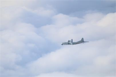 快新聞/中國軍機又來! 運8反潛機1架次闖我西南空域遭廣播驅離