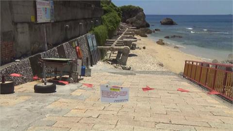 小琉球局部未開放遊客稀落 墾丁海灘也沒開放