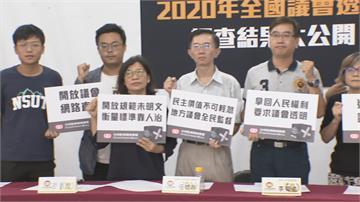 2020全國議會透明度調查台南台東表現佳 桃屏投排倒數