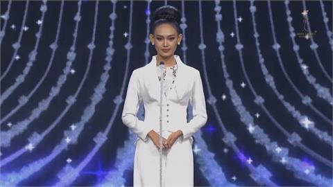 萬國小姐選美比賽 緬甸佳麗舞台泣訴「救救緬甸」