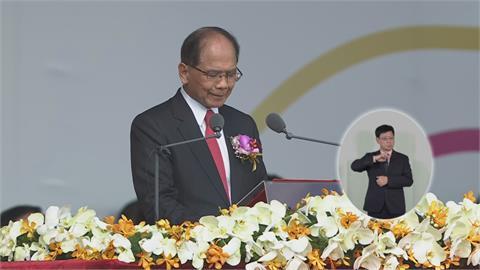 快新聞/2021是哀傷與喜悅交織的一年 游錫堃:民主是台灣的百年基因