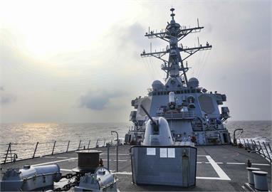 快新聞/美軍驅逐艦通過台灣海峽 拜登任內第七次