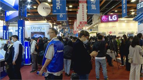 台北空調電器大展登場 百大品牌齊聚民眾瘋搶