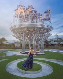 哈旅遊拍攝 宜蘭赫蒂法莊園  超好拍夢幻空中城堡
