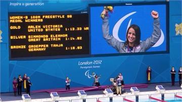美女殘奧游泳選手 癱瘓後再站起參加舞蹈大賽