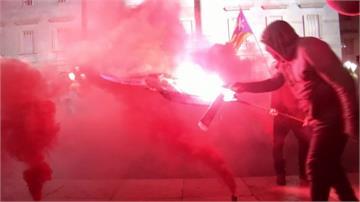 焚燒人形牌!加獨人士大選前示威尋聲援