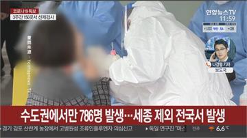 南韓單日首破千人確診 防疫壓力升高!半數人失業或減薪