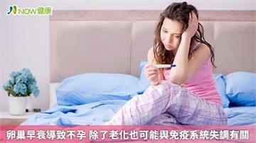 卵巢早衰導致不孕 除了老化也可能與免疫系統失調有關