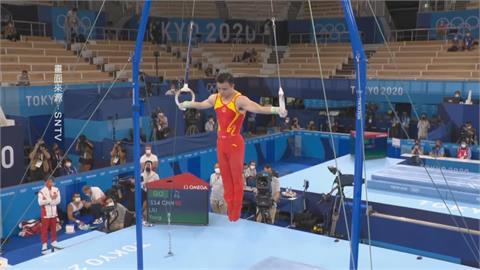 美國卡莉地板奪金 劉洋吊環突破中國體操零金
