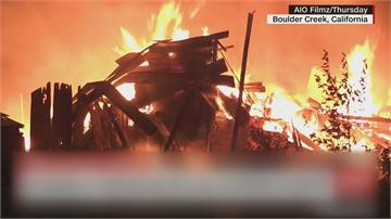 「乾熱遇雷擊」一週狂燒2座新北市  加州野火「12萬人撤離家園」