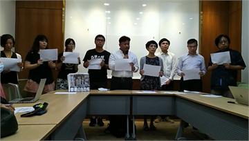 快新聞/批國安法敲香港新聞自由喪鐘 民團齊撐港:立即釋放被捕媒體人