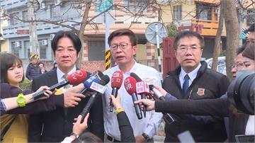 台南立委補選投票日 三位候選人前往投票