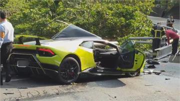 藍寶堅尼撞中油油罐車 車主一審判賠505萬