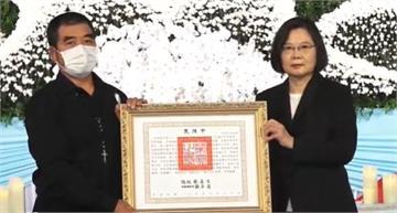 快新聞/漢光演習2飛官殉職 蔡英文今出席聯合公祭親頒褒揚令