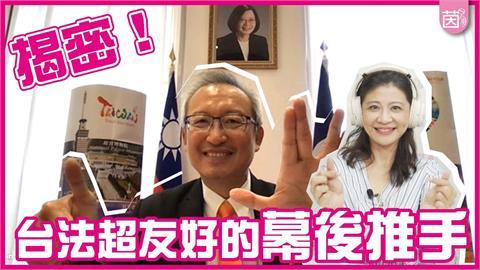 駐法大使為台打拚白了頭!外交事務大揭秘 兩國友好「洗臉中外長王毅」
