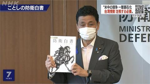 日本2021年防衛白皮書 首提「台灣穩定重要性」