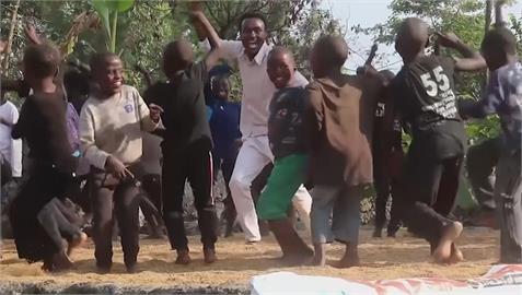 舞蹈治火山爆發陰影 剛果孩童學跳舞忘卻煩惱