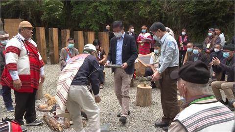 蔡總統親見證 Skaru部落群與林務局和解