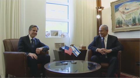 美國務卿布林肯出訪中東 鞏固以色列與哈瑪斯停火協議