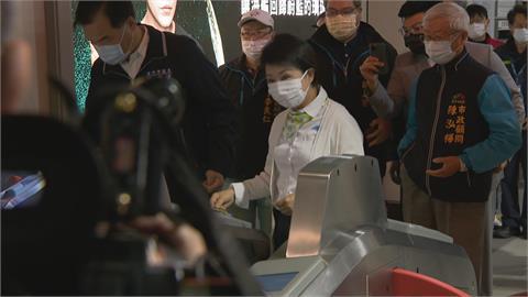中捷綠線重啟試營運 1個月內免費搭盧秀燕搭首發車 中捷制服穿到正式營運