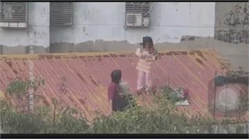 新北女童屋頂拉提琴 網驚:用「生命」演奏
