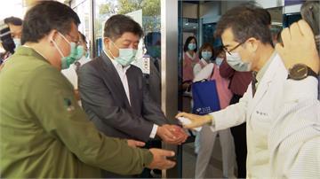避院內感染風險 陳時中視察醫院管制措施