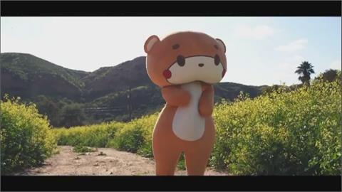 真人版泰迪熊700公里長征 從洛杉磯走到舊金山