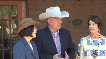 蔡總統過境丹佛訪大氣研究中心 3台籍科學家當場表態挺連任