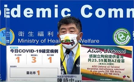 快新聞/加零破功!本土今增1例在台北 境外移入增3例、1死亡