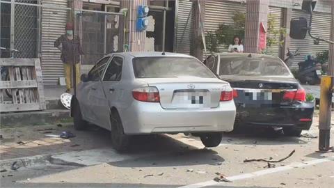 路口左轉遭直行車撞!  嚴重車禍2死2傷