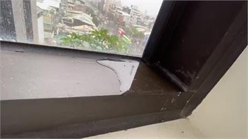施工超落漆!台北大龍新城交屋3個月就漏水