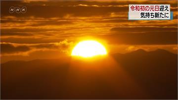 令和首次元旦日出 曙光專機富士山迎新年