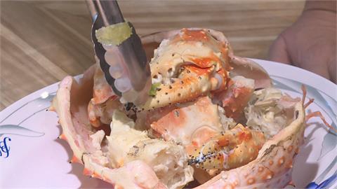 秋涼吃蟹去! 帝王蟹三吃免調料最對味