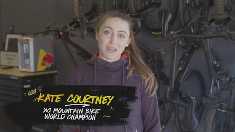 美女越野單車手!  後院打造夢幻訓練基地