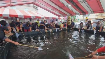 手作蝦餃、體驗池裡捉蝦樂趣宜蘭「蟳蝦祭」盛大開跑