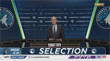 2020年NBA選秀狀元灰狼欽點後衛艾德華茲